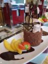 Decadent desserts at New York Cafe