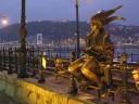 Statue along the Danube
