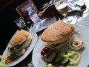 The smallest burger on the biggest bun, Budapest