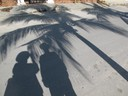 Puerto Morales shadows - February 2010