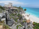 Tulum Ruins on the Gulf of Mexico
