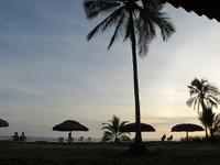 Sunset at Las Lajas Resort